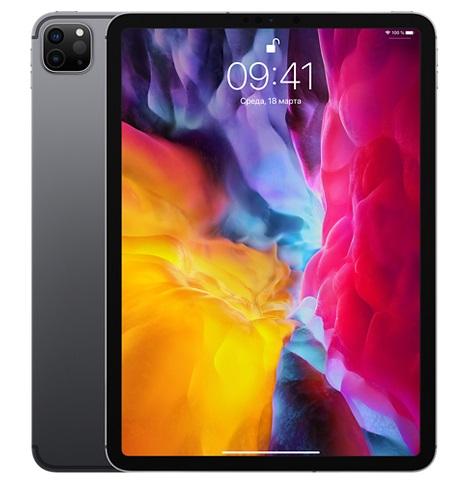 iPad Pro 11'' Wi-Fi (2020) 128Gb Серый космос